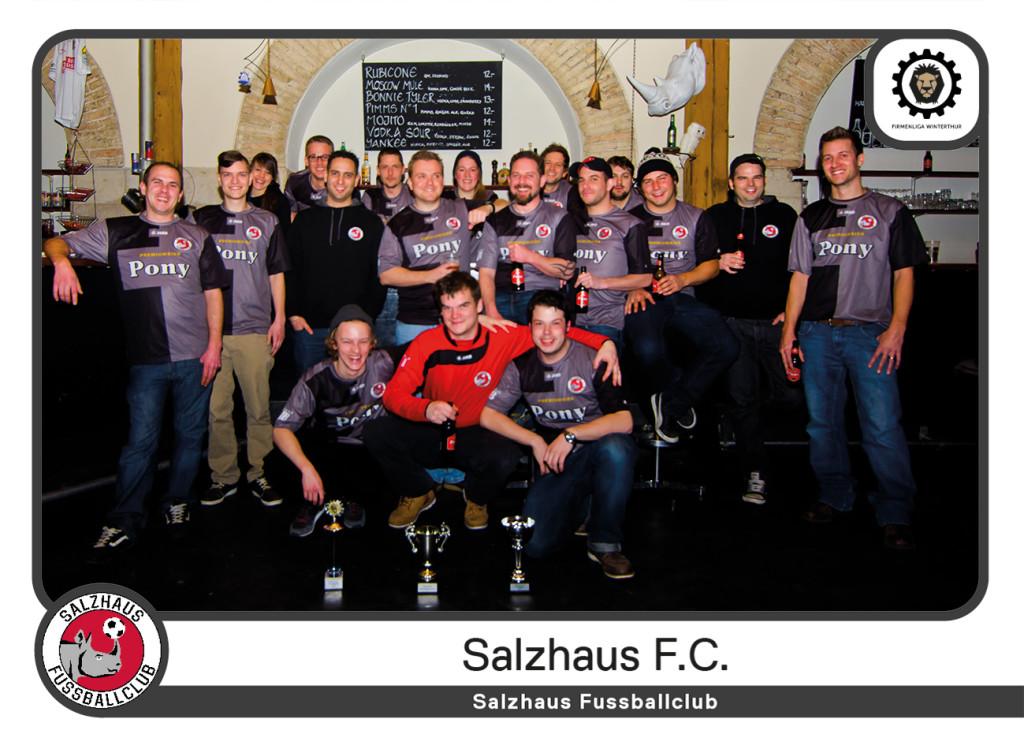 Salzhaus FC Mannschaft